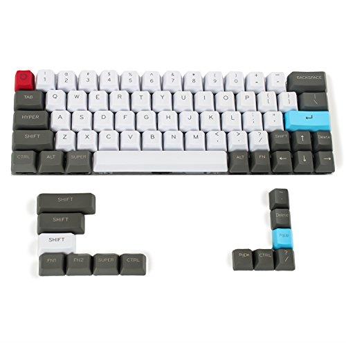 YMDK - Juego de llaves de perfil OEM (61 64 68 ANSI) para teclado mecánico Cherry MX GH60 XD64 GK64 Tada68 (solo teclado)