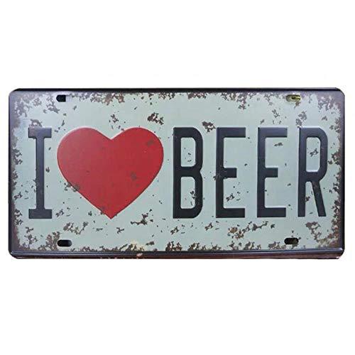 30 * 15cm bier wodka metalen schilderij teken Kuifje plaat garage licentie plaque poster bar muur huisdecoratie tinnen borden, ik