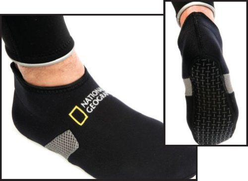 National Geographic Fitted Low Cut 2 mm Fin Socks