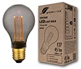 Bombilla LED greenandco® decorativa estilo vintage antiguo Edison gris...