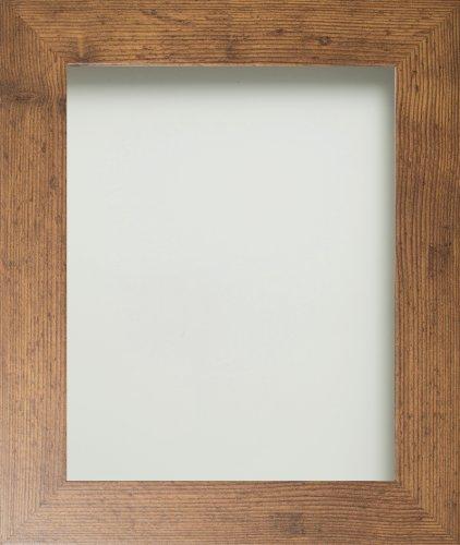 Frame Company Watson fotoram/bildram, rustik design, finns i olika storlekar, MDF, rustik brun, 30,5 x 20,3 cm