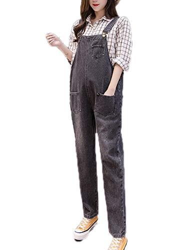 keephen Umstandsmode Lätzchen Overalls Overalls Schwangere Denim Latzhose Jeans Jumpsuits