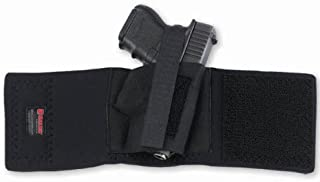 Galco Cop Ankle Band for Glock 26/27/31, Sig Sauer P239, 1911 3-Inch (Black, Right-Hand)