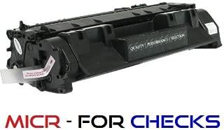NE IMAGE - 1 Compatible MICR Toner Cartridge Replacement for HP CE505A (05A) for LaserJet P2035, P2035n, P2055dn, P2055x Printers