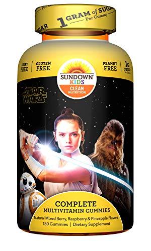 Sundown Kids Star Wars Complete Multivitamin, 180 Count