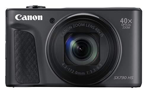 Canon Powershot SX730 HS Fotocamera Digitale Compatta con Custodia DCC-2400 e Gorillapod, Nero