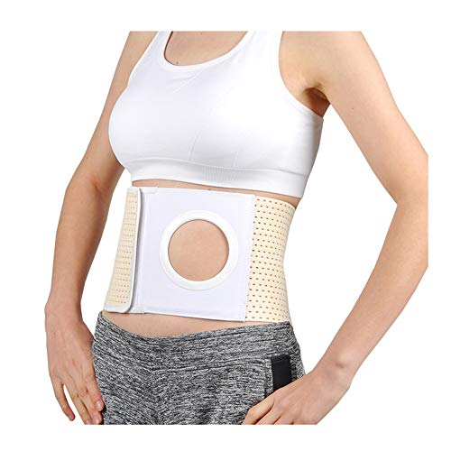 Ostomy Hernia Belt-Waist Support-Abdominal Brace-Stoma Binder Girdle for Medical Colostomy Bag,M