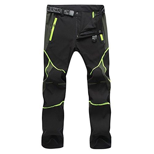 SUKUTU Herren Sportswear leicht wasserdicht atmungsaktiv Quick Dry Wandern Mountain Cargo Hose SU001