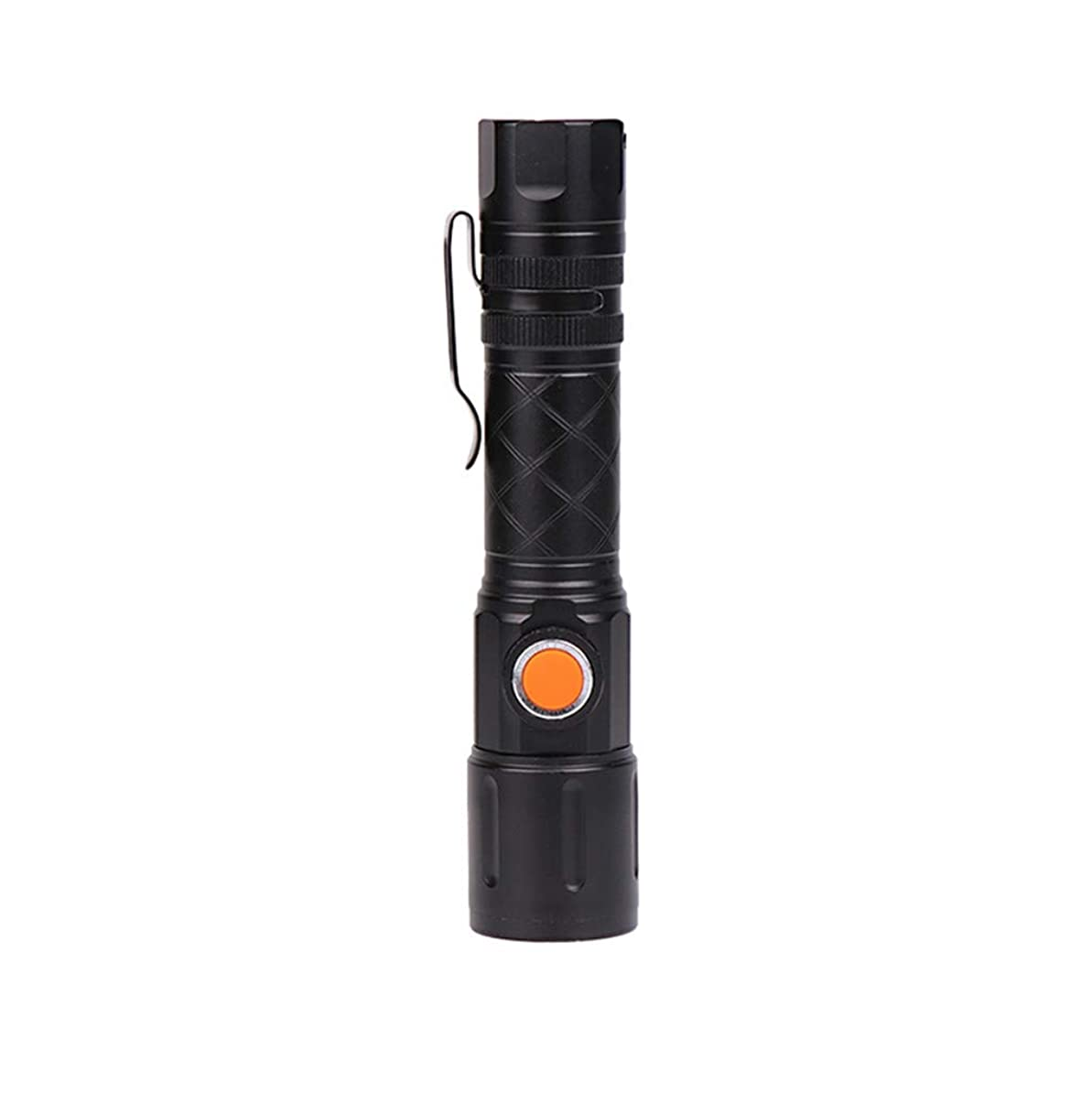 保護する通訳湖Feteso 懐中電灯 2019新作 USB充電 LEDライト 登山 釣り 夜間作業 キャンプ 停電 防災 地震対策 持ち運びに便利 2019 New LED Fashion Flashlight