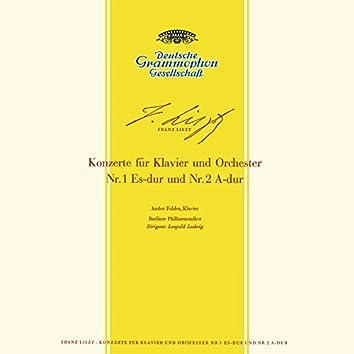 Liszt: Piano Concerto Nos. 1, S.124 & 2, S.125 / Rachmaninov: Piano Concerto No.2