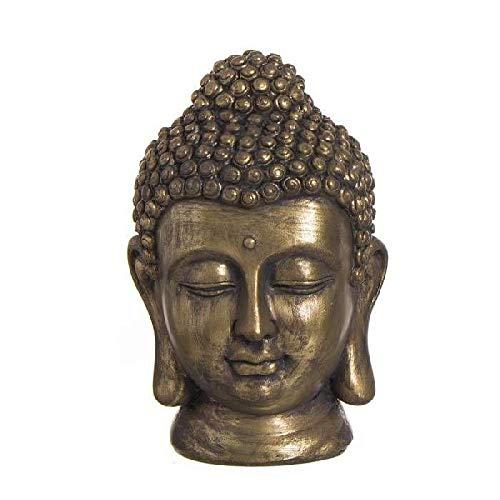Dcasa Figura Cabeza Buda Adornos Muebles Pegatinas Decoración del hogar Unisex Adulto, Color, única