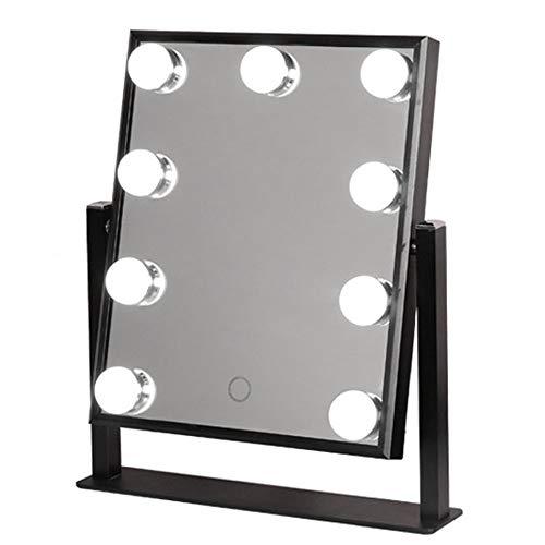 RXM LED make-up spiegel touch control dimbare verlichting spiegel desktop verlichten aankleedspiegel