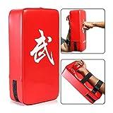GYJ Taekwondo Pads de Bombo de Cuero de formación Cojines de la Mano con Correa Ajustable Focus Punch Mitts Bolsos de Mano zócalos de Destino for el Boxeo MMA Practica Fitness
