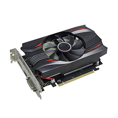 Schede grafiche per computer, RX560D-4G GDDR5 AMD Radeon Scheda Video Discreta Gaming Scheda Grafica 1176MHz/6000MHz 4G/128bit/GDDR5/DP+DVI-D+HDMI Desktop Schede Video