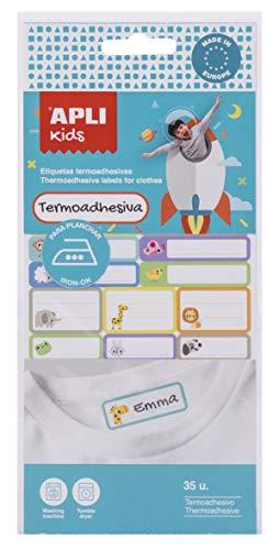 Etiquetas Ropa Niños Personalizadas Marca APLI Kids