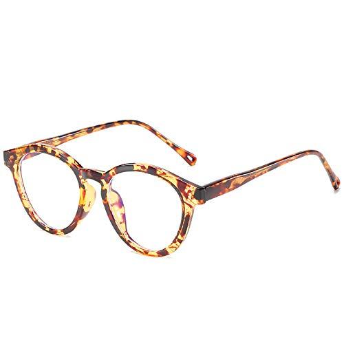 Bias&Belief Gafas de Bloqueo de luz Azul Gafas para Juegos de computadora TR Montura Redonda pequeña para anteojos Gafas Lectura Anti-Fatiga Visual para Mujeres y Hombres,A
