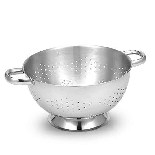 Mzxun Cesta de frutas de metal Bowl por mesa de la cocina o del mostrador
