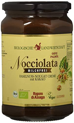 Rigoni di Asiago Nocciolata - milchfrei - Haselnuss-Nougat-Creme BIO - Cremiger Brotaufstrich, 1er Pack (1 x 700 g)