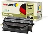 TONER EXPERTE® Compatible CE505X 05X Cartucho de Tóner Láser para HP Laserjet P2050 P2053 P2053d P2053n P2054 P2054d P2054n P2055 P2055d P2055dn P2055x P2056 P2056d P2056n P2057 P2057d