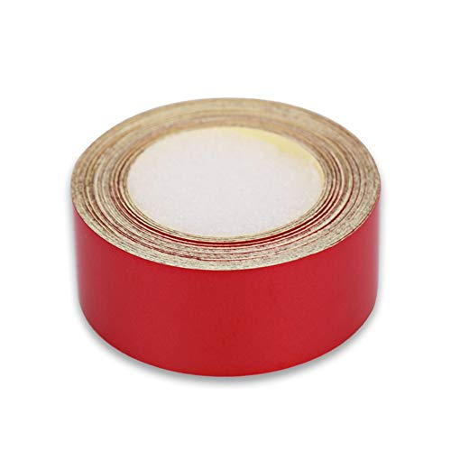 XLTWKK 5m*2cm Red Reflective Car Tape Styling Truck Reflective Tape Stickers Film Automobile Self Adhesive reflective film