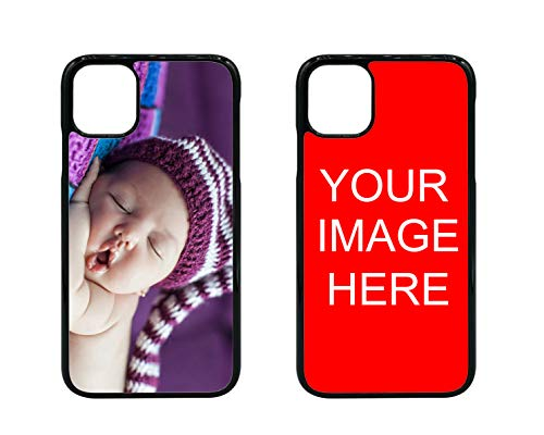 D sticky company Custom Phone Case for iPhone, Make Your Own TPU Rubber Phone Cases, Personalized with Photo Image Text Picture Design, Gifts for Birthday Xmas Valentines (iPhone 11)