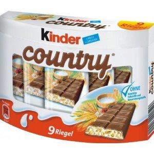 FERRERO フェレロ Kinder Country キンダーカントリー 9個×2箱セット 並行輸入品