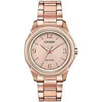 Citizen AR Eco-Drive Pink Dial Ladies Watch