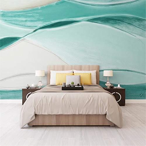 3D-behang van vlies met Scandinavische persoonlijkheid en geometrisch abstract water ribbels woonkamer TV achtergrond behang voor bank wand behang zonder onderbreking 250cm*175cm