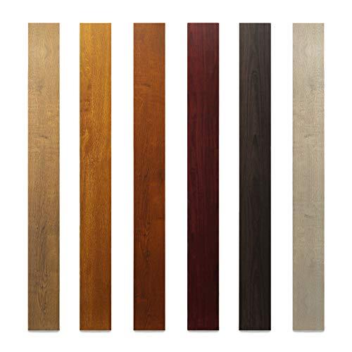Aluminium Vierkantrohr/Rechteckrohr PULVERBESCHICHTET Aluminiumprofil 100x20 Holzimitation (50cm, Golden Eiche)