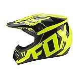 LSLVKEN Casco integral de seguridad clásico para bicicleta de montaña Downhill DH Casco de motocross Capacetes Motocross, cuatro estaciones transpirables, 06, XL