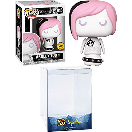 Ashley Too (Chase): Funk o Pop! TV Vinyl Figure Bundle with 1 Compatible Graphic Protector (945 - 45366 - B)