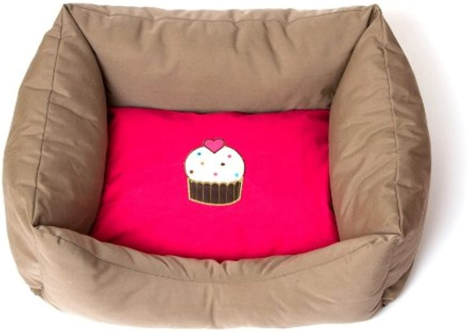 Petuky bluee Cup Cake Dog Bed 28,7 X 23,6 X 9,4