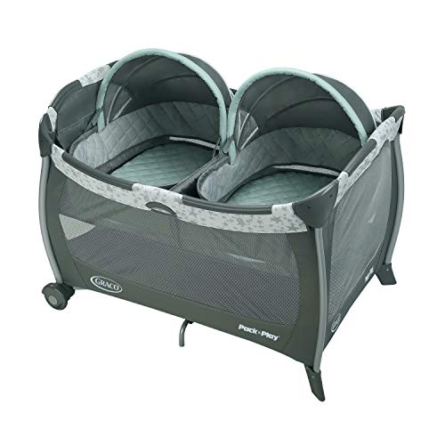Graco Pack 'N Play Playard with Twins Bassinet, Oskar