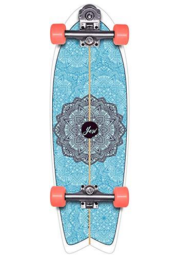 YOW Huntington Beach 30' High Perfomance Series, Complete Surfskates Unisex Adulto, Multicolore, Taglia Unica
