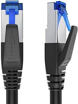 KabelDirekt 7 Network 1ft RJ45 10Gbps Ethernet Cable