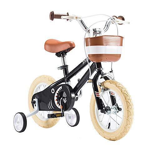 YSA Kinderfahrrad Kinderfahrrad mit Stützrädern , für 2-8 Jahre alte Jungen und Mädchen 12-16 Zoll Kinderfahrrad