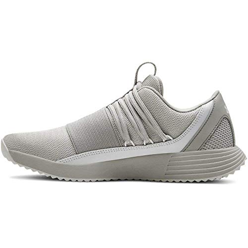 Under Armour Women's Breathe Lace x NM Sneaker, Gray Flux (101)/Gray Flux, 9 M US