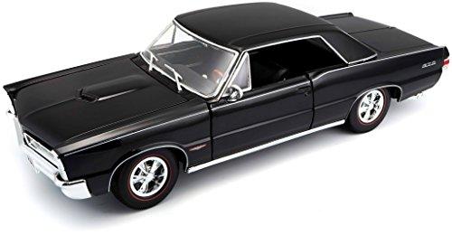MAISTO 31885 - Véhicule Pontiac GTO Hurst Edition 1965 Echelle 1/18, coloris aléatoire