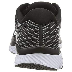 Saucony Women's S10548-40 Guide 13 Running Shoe, Black/White - 7.5 M US