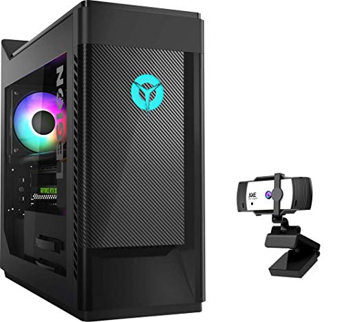 Lenovo Legion Tower 5 Gaming Desktop, 10th Gen Intel Core i5-10400F Processor up to 4.30GHz, GeForce GTX 1650 Super Graphics, 32GB RAM, 1TB PCIe SSD+2TB HDD, RGB Light, Win10 Home, KKE 1080P Webcam