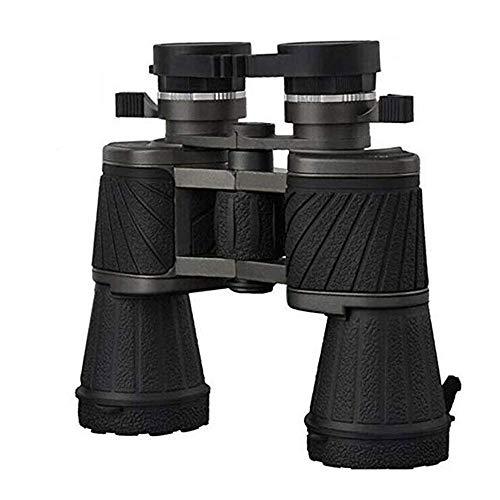 YDXYZ Clear Weak Light Vision 10X50 HD Prismáticos al Aire Libre Impermeable portátil para observación de Aves Vida Silvestre Camping
