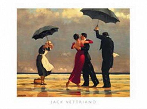 1art1 Jack Vettriano - The Singing Butler I Póster Impresión Artística (50 x 40cm)