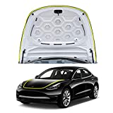 CDEFG Car Door Seal Strip for Tesla Model 3 Waterproof Trim Dustproof Sound Noise for The Sunroof Black (1 for The Engine Cover and 1 for Trunk)