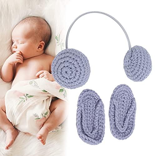 Accesorio de fotografía para recién nacidos, diseño unisex Vivid Baby Props Fotografía Tela cómoda para bebés de 0 a 3 meses para fotografía para bebés para foto(grey)