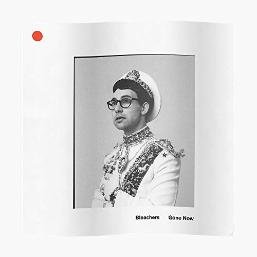 Poster: Bleachers Poster (16.4 x 16.4 in) - Perfect for College Dorms, Student Rooms, and Bedrooms - Cool Popular Posters Design Gift