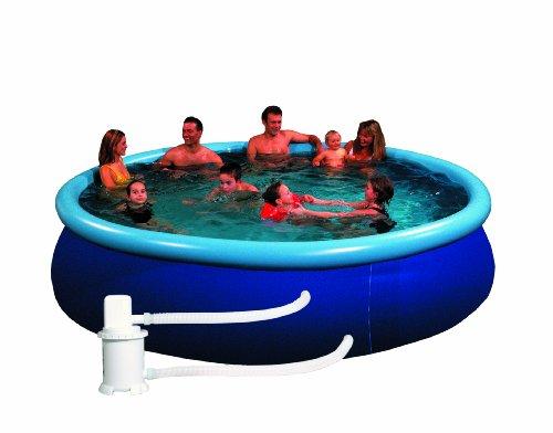Friedola 12302 - Quick-Pool-Set, 450 x 86 cm, blau