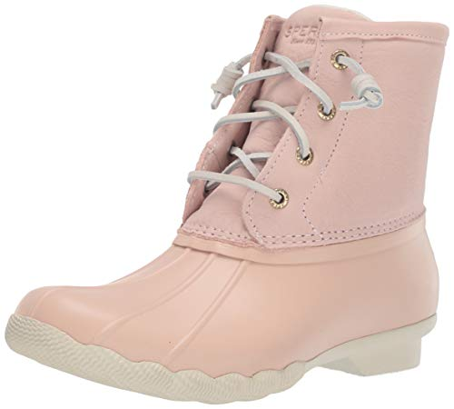 Sperry Womens Saltwater Boots, Blush, 8