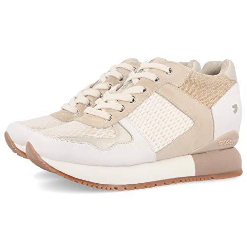 Gioseppo Bastogne, Zapatillas para Mujer, Blanco (Blanco Blanco), 37 EU