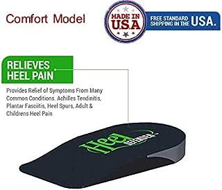 Heel Cushion Pad - Plantar Fasciitis - Heel Pain Relief Insoles - Achilles Tendon (Small)