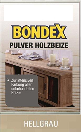 Bondex Pulverbeize Hellgrau 12,5 g - 352538